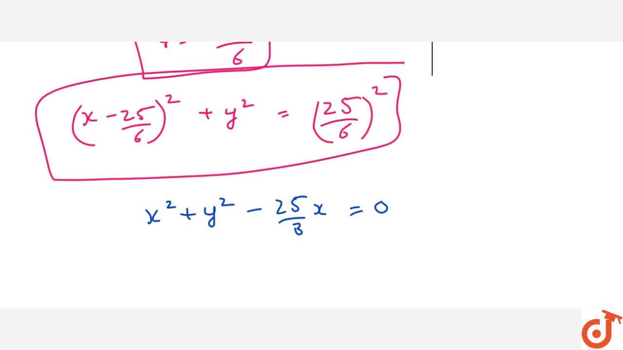Write the equation of the circle passing through (3,4) and touching   y-axis at the origin.