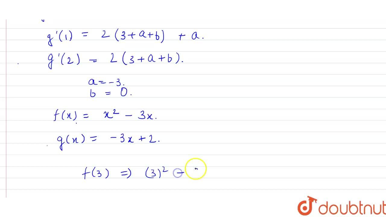 Solution for Let f: R-{0}rarrR be a function which is differe
