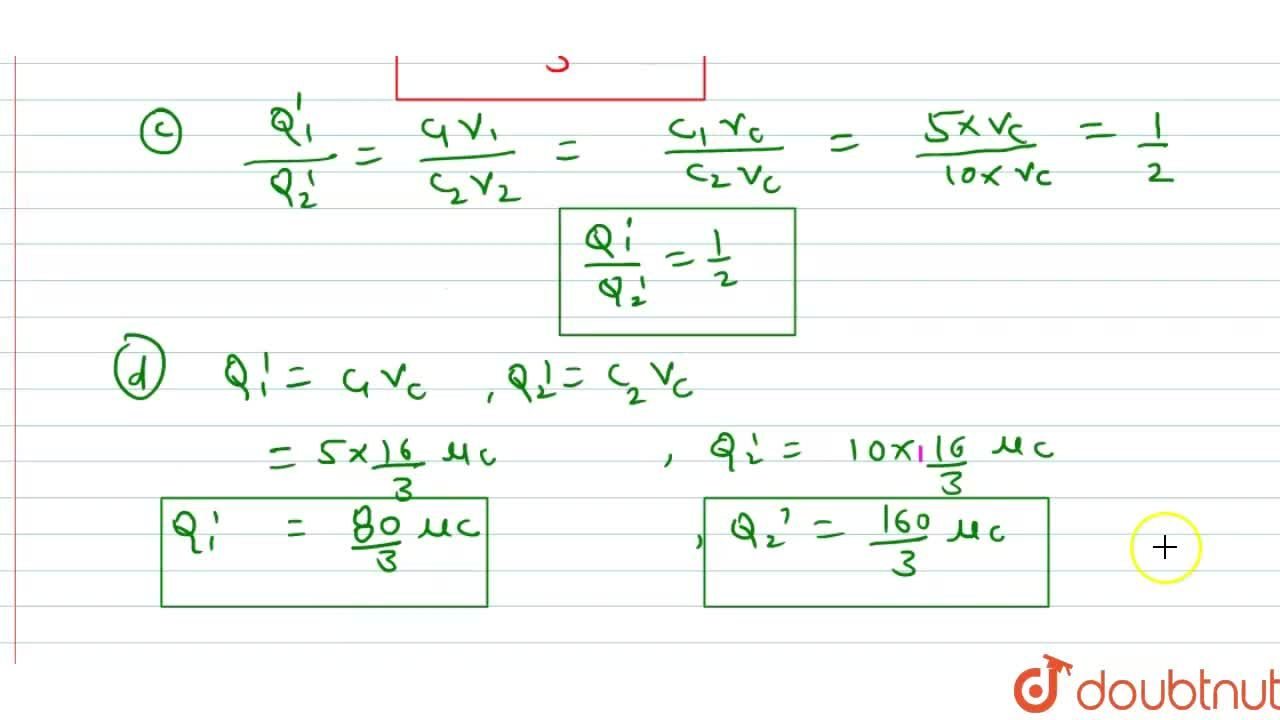 Solution for When 30mu C charge is given to an isolated condu