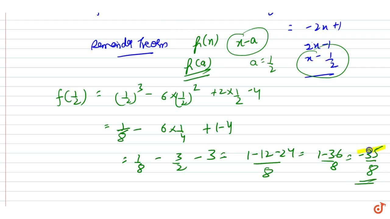 Solution for f(x)=x^3-6x^2+2x-4,\ g(x)=1-2x