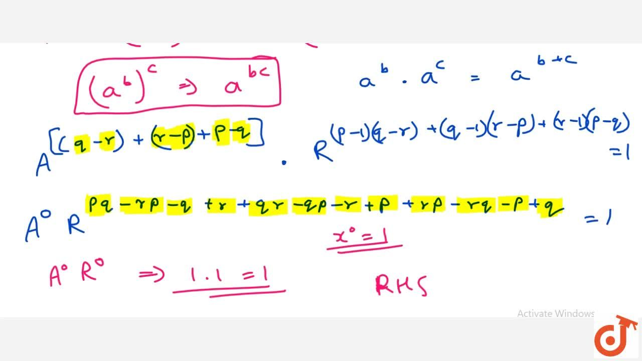 Solution for If the p t h ,\ q t h\ a n d\ r t h terms of a