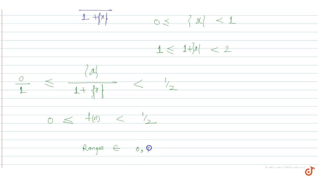 If f(x)=(x-[x]),(1-[x]+x), where [.] denotes the greatest integer function, then f(x) in :