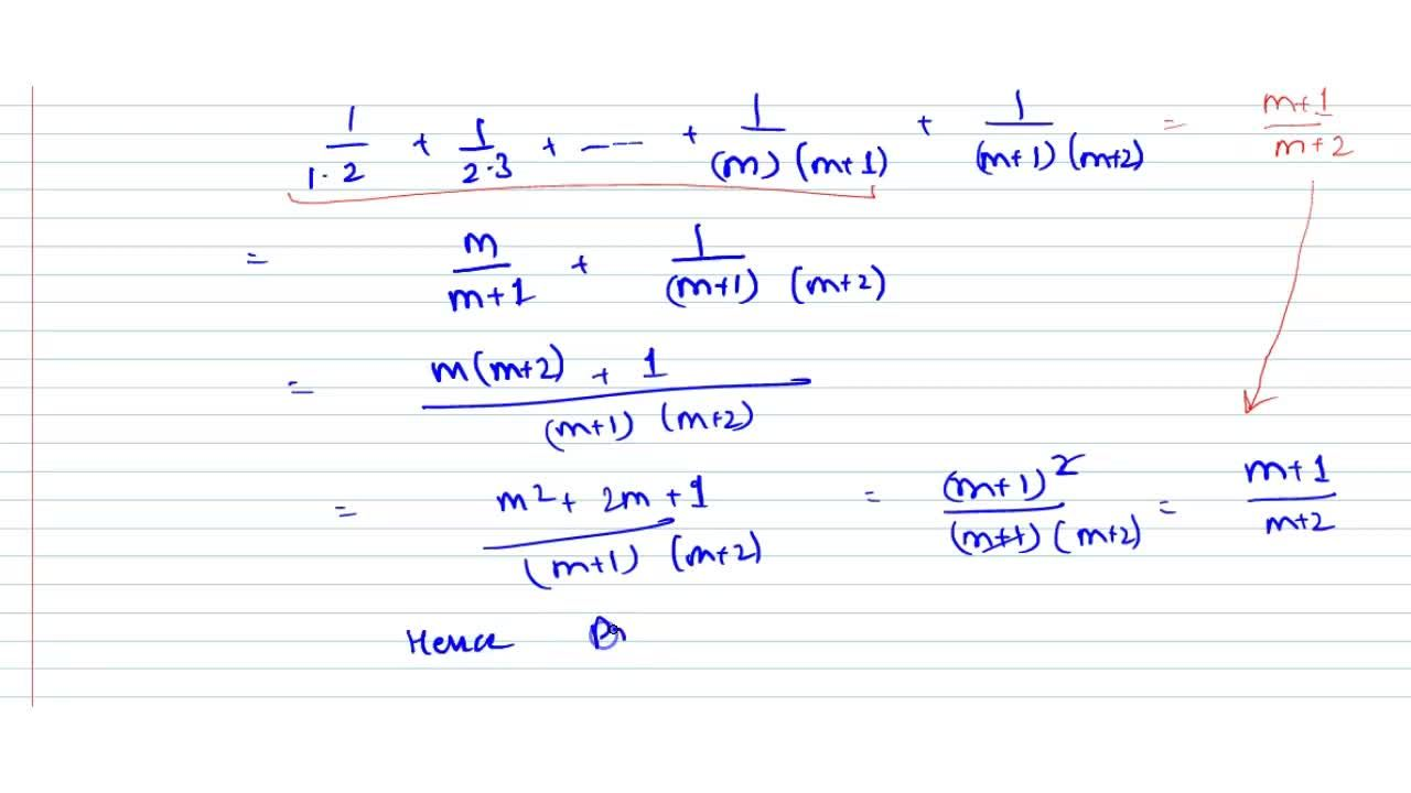 Solution for Using the  principle of mathematical induction, pr