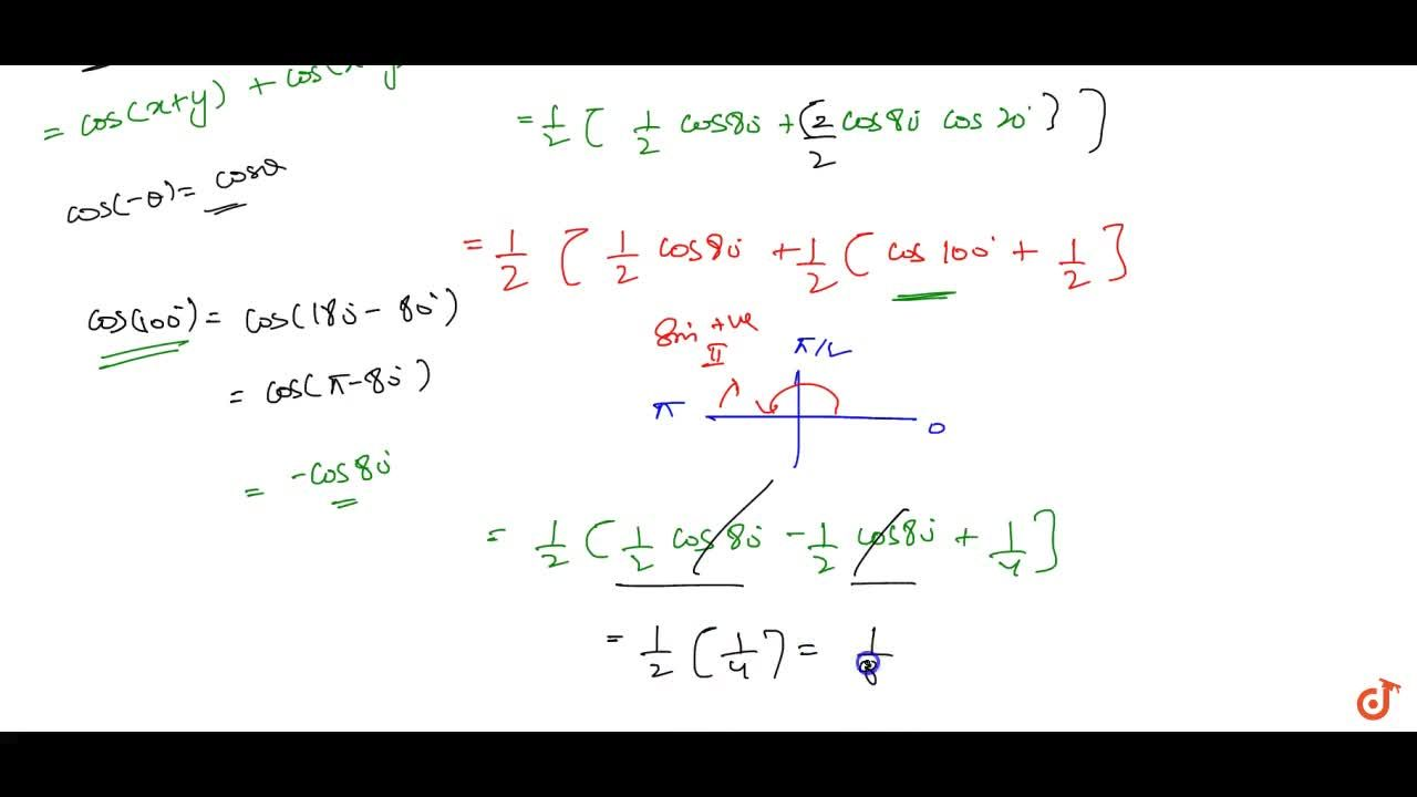 Solution for Prove that: \ cos 20^0cos 40^0cos 80^0=1,8