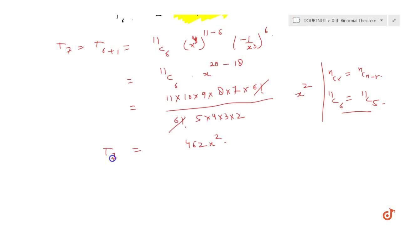 Solution for Find the middle term in the expansion of : (x^4-1