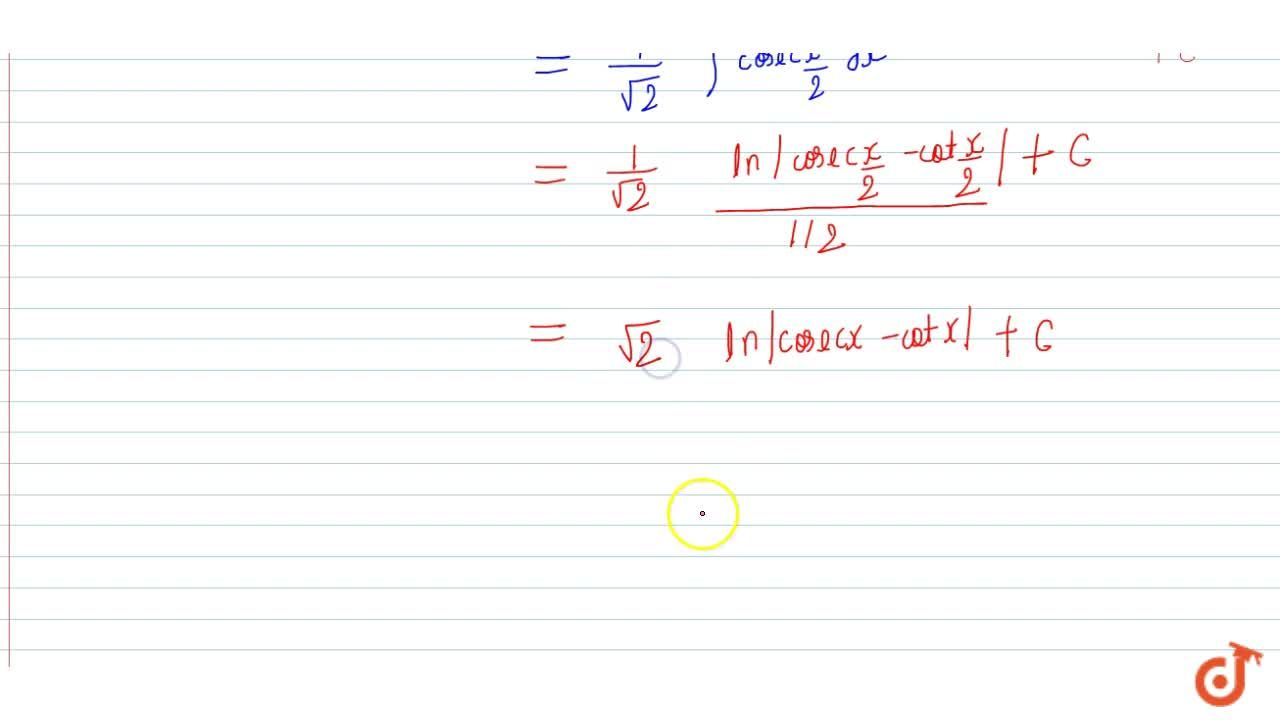 Solution for Evaluate: (i) int1,(sqrt(1+cos2x))\ dx (ii) int