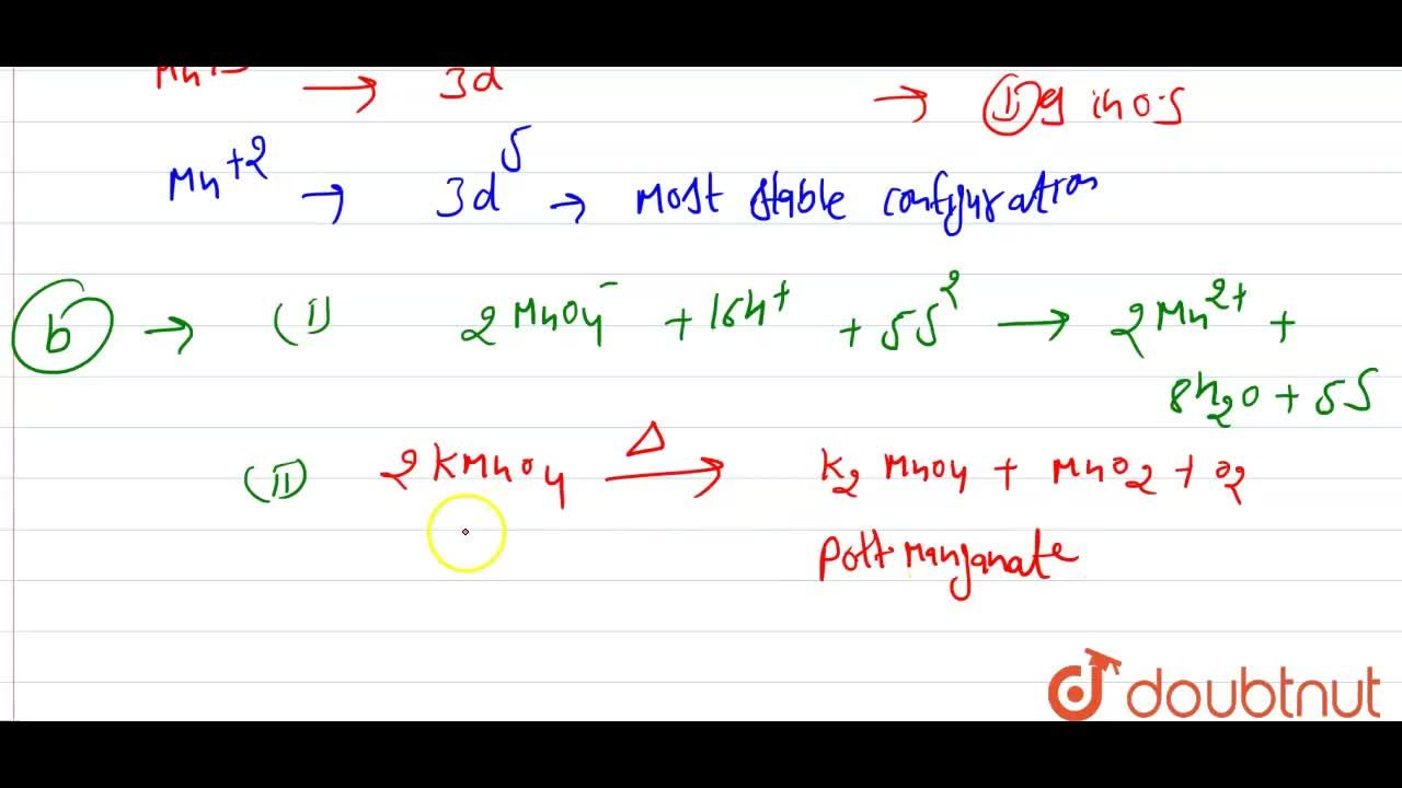 Solution for (a) Following are the transition metal ions of 3d
