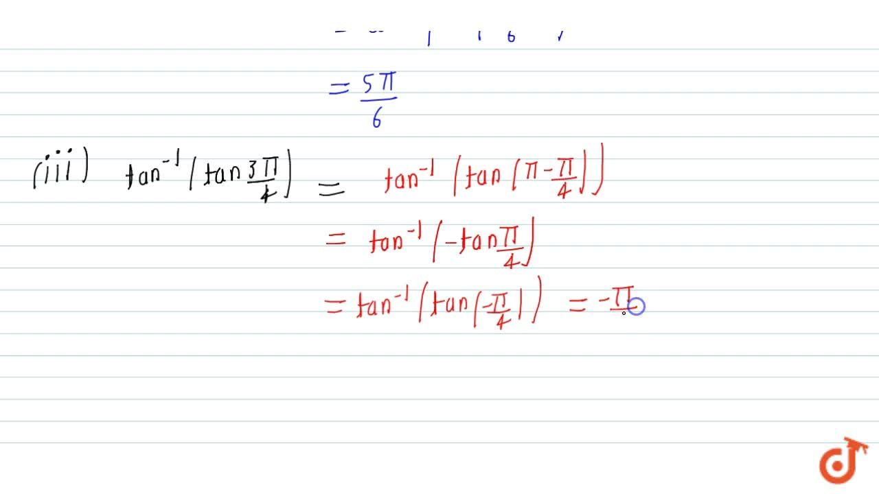 Solution for Evaluate each of the   following: sin^(-1)(sin(2