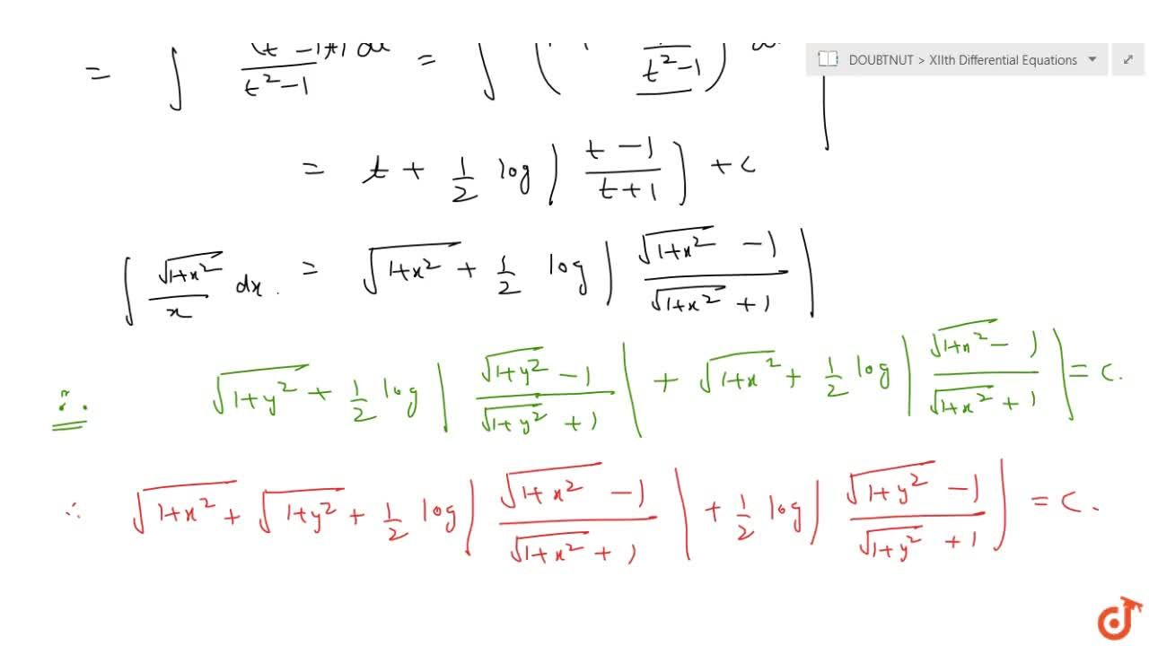 Solution for Solve the following differential equation: \ y\ s