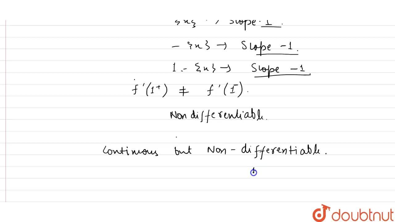 """Number of points where the function <br> f(x)={(1+[""""cos""""(pix),2],1ltxle2),(1-{x},0lexlt1),(