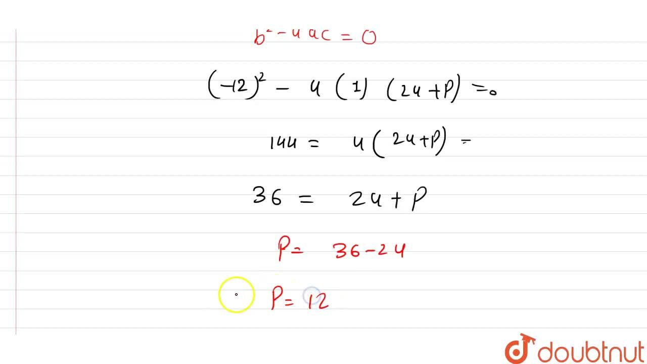 Solution for If 3 is a root of the quadratic equation x^(2)-x+