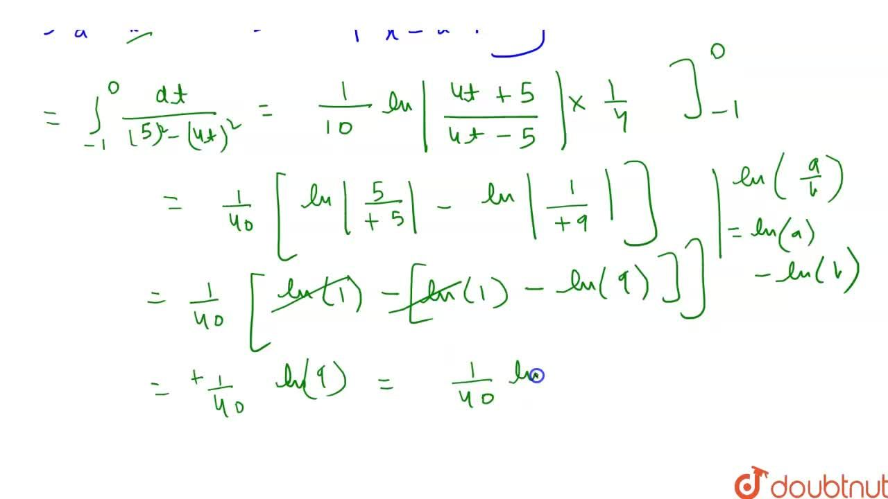 Solution for   int _0^((pi),(4))(sinx  + cos x),( 9 +  16  sin