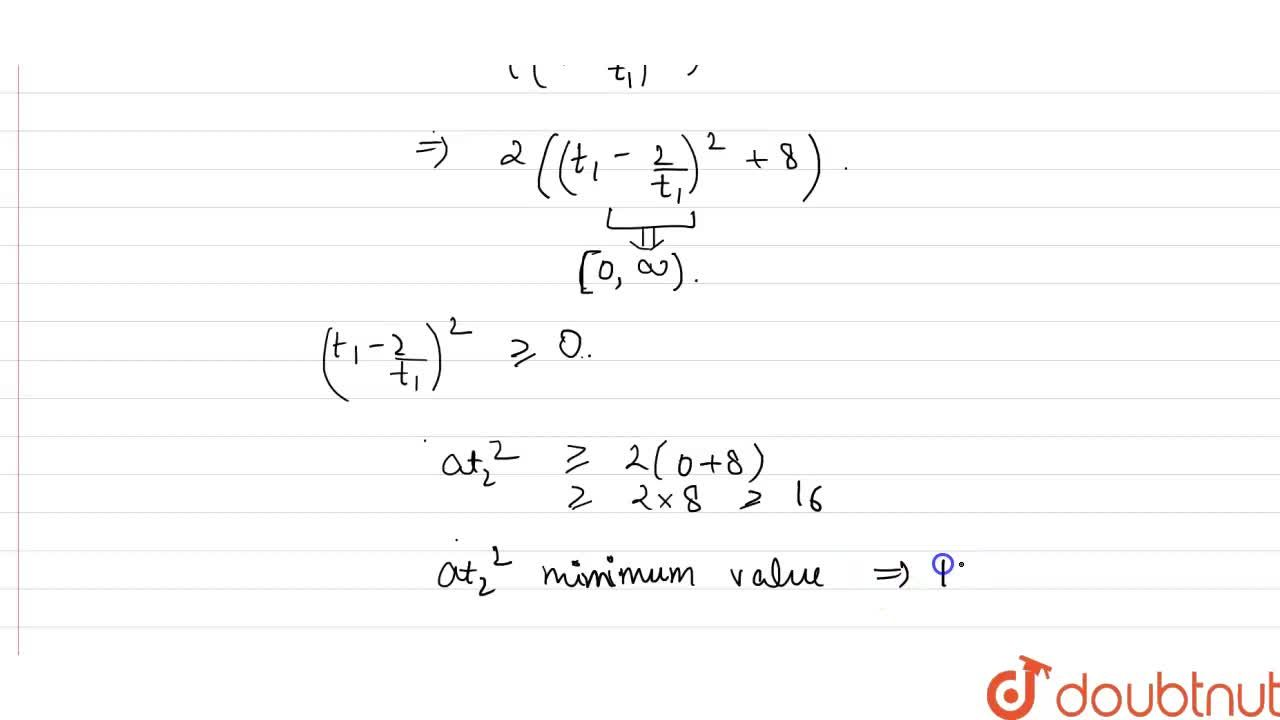 Solution for Consider the parabola y^(2)=8x,  if the normal a