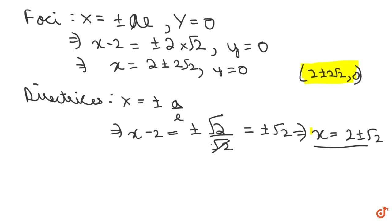 Find the centre, eccentricity, foci and directrices of the hyperbola : x^2-y^2+4x=0