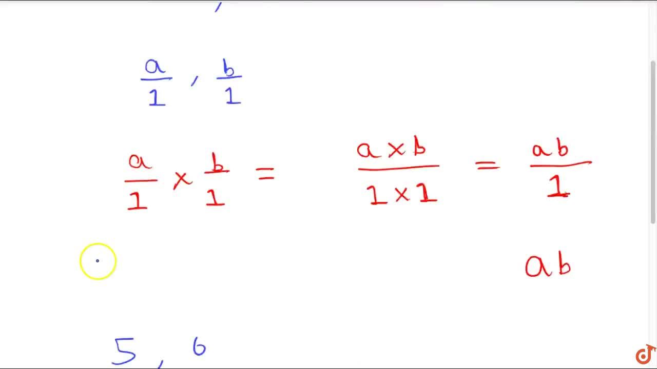 Solution for Property 1 (closure property): The product of two