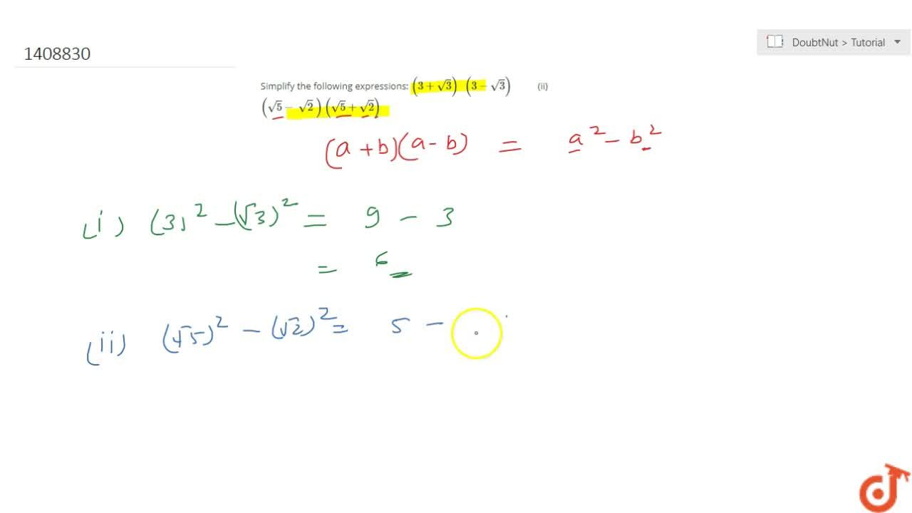 Solution for Simplify the following expressions: (3+sqrt(3))\