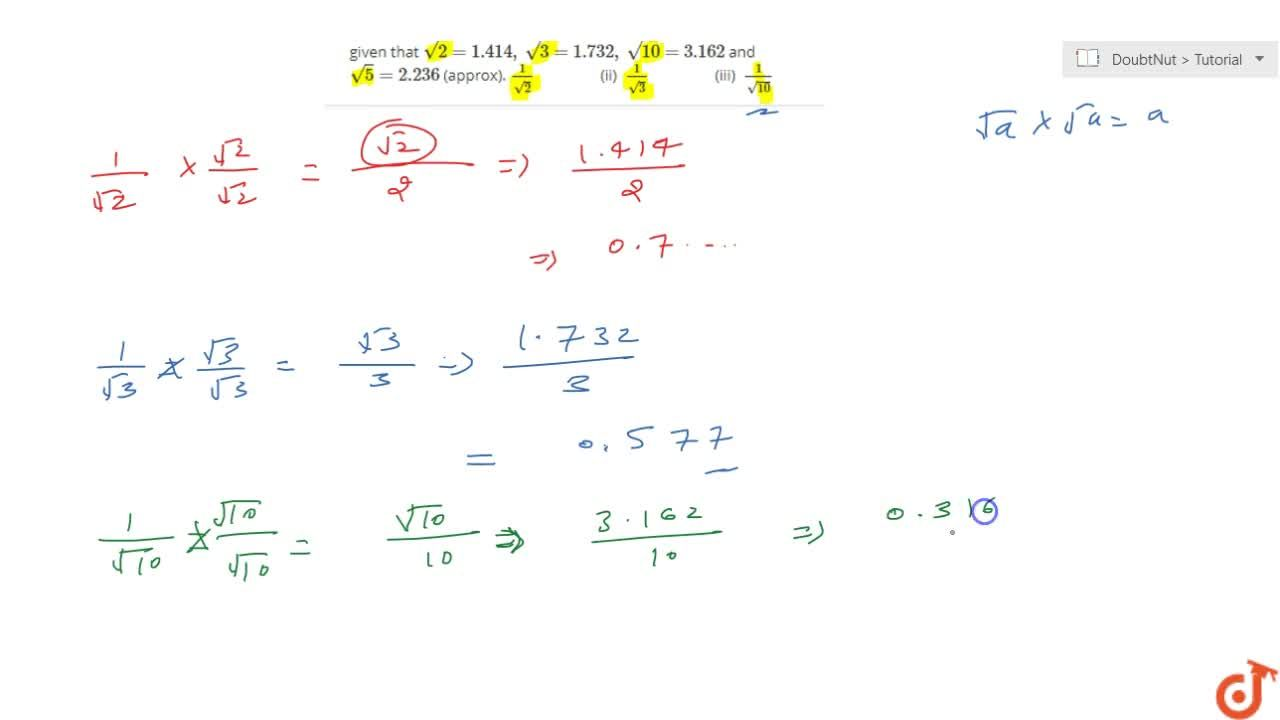 Solution for Find the value of three places of decimals, of