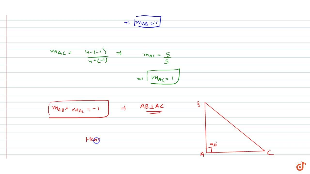 Solution for Without using Pythagoras theorem, show that A(4,4