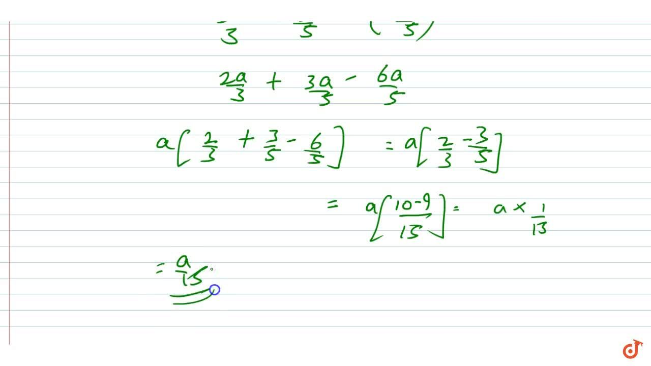 Solution for Add the algebraic expressions:  2,3a ,3,5a ,-6,5a