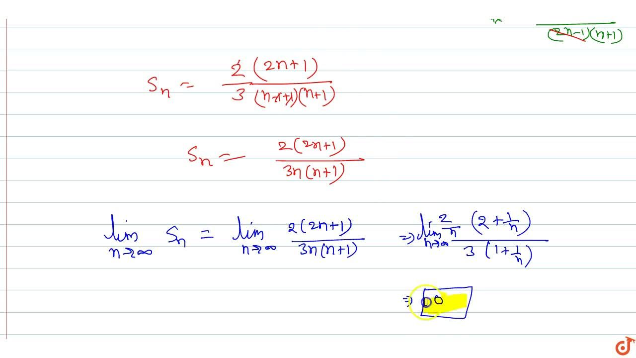 Solution for Suppose that S_n=5,9xx14,20xx27,35xx.....xx(2n^2-