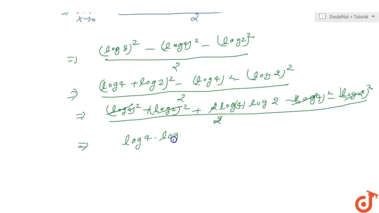Solution for Evaluate the following limit: (lim)_(x->0)(8^x-4^