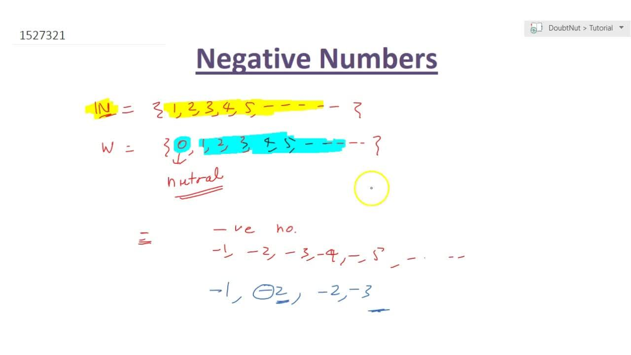 What Are Negative Numbers
