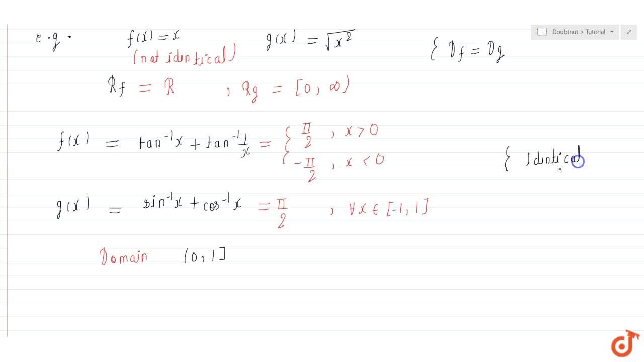 Definition and properties of Identical Function