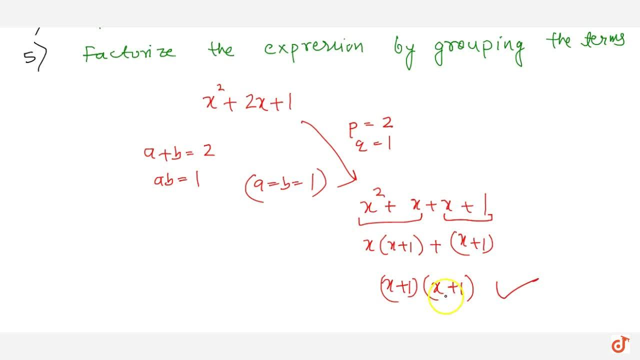 Solution for Factorize quadratic polynomial variable