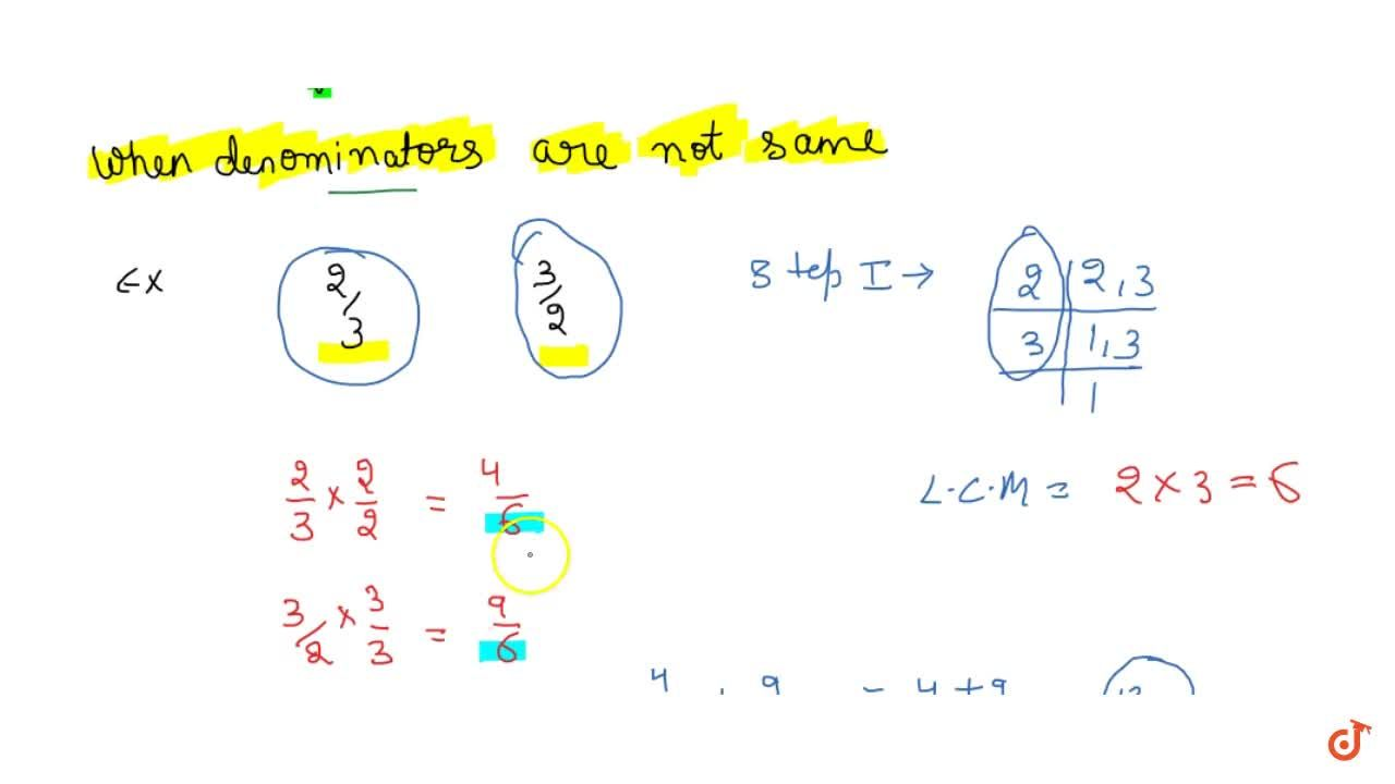 Solution for Numbers with distinct denominators