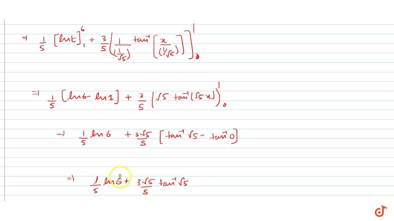 Evaluate the definite  integralsint_0^1(2x+3),(5x^2+1)dx