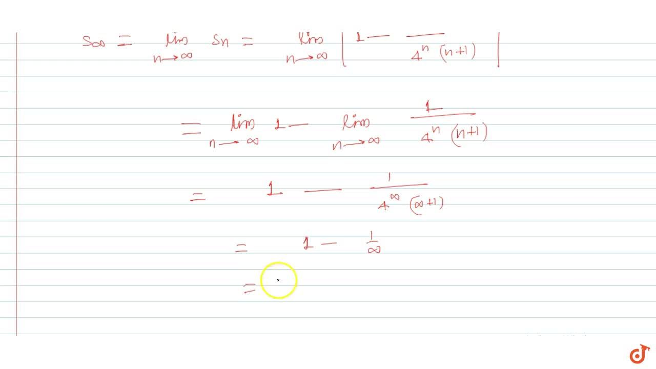 Sum the series 7,(4*1*2)+10,(4^2*2*3)+13,(4^3*3*4)+......... upto n terms Also find S_oo.