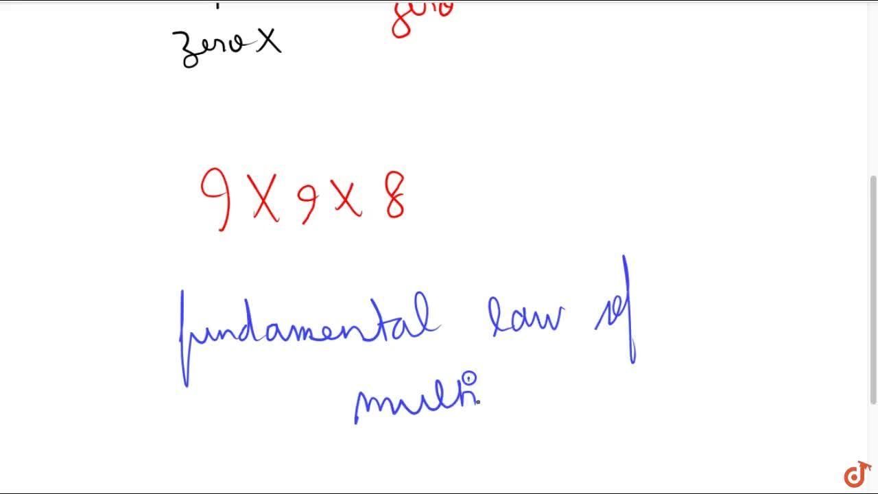 Solution for How many three digit numbers are there with no dig