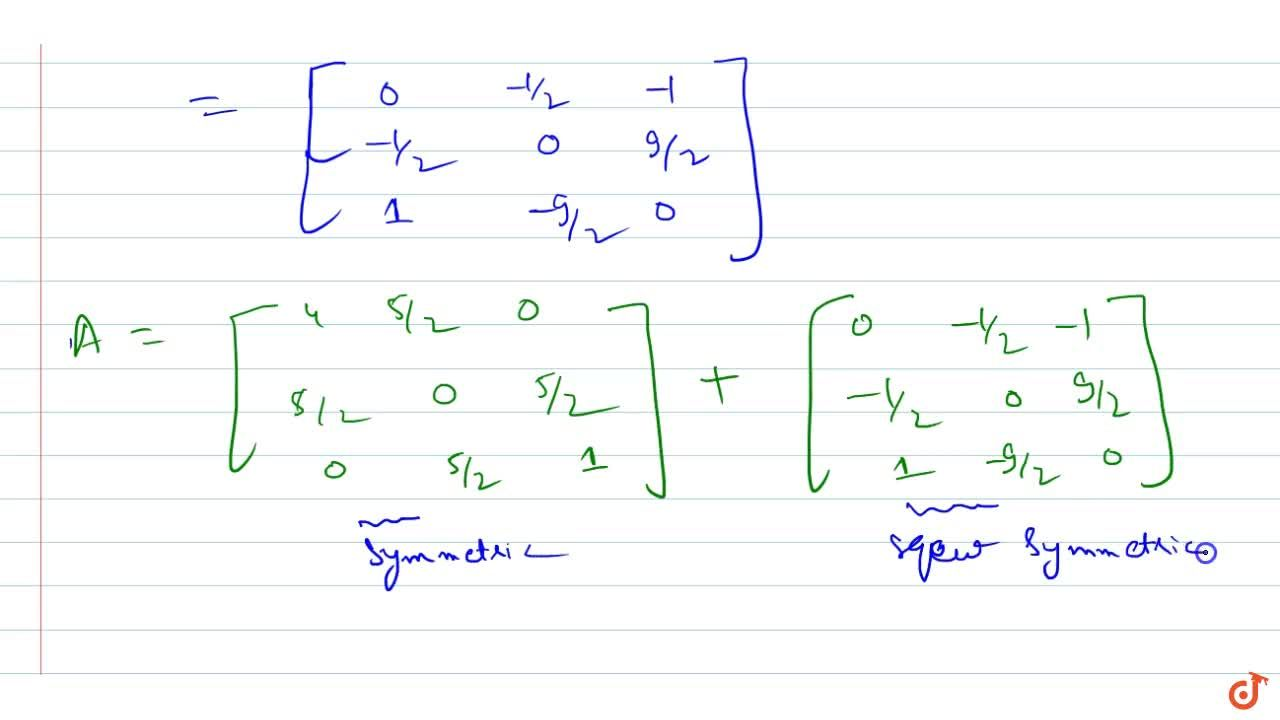 Solution for Express the matrix A=[4 2-1 3 5 7 1-2 1] as the