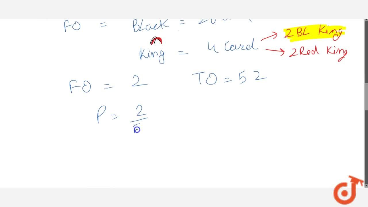 A card is   drawn at random from a pack of 52 cards. Find the probability that the card   drawn is (i) a black   king (ii) either a black card or a   king (iii) black   and a king