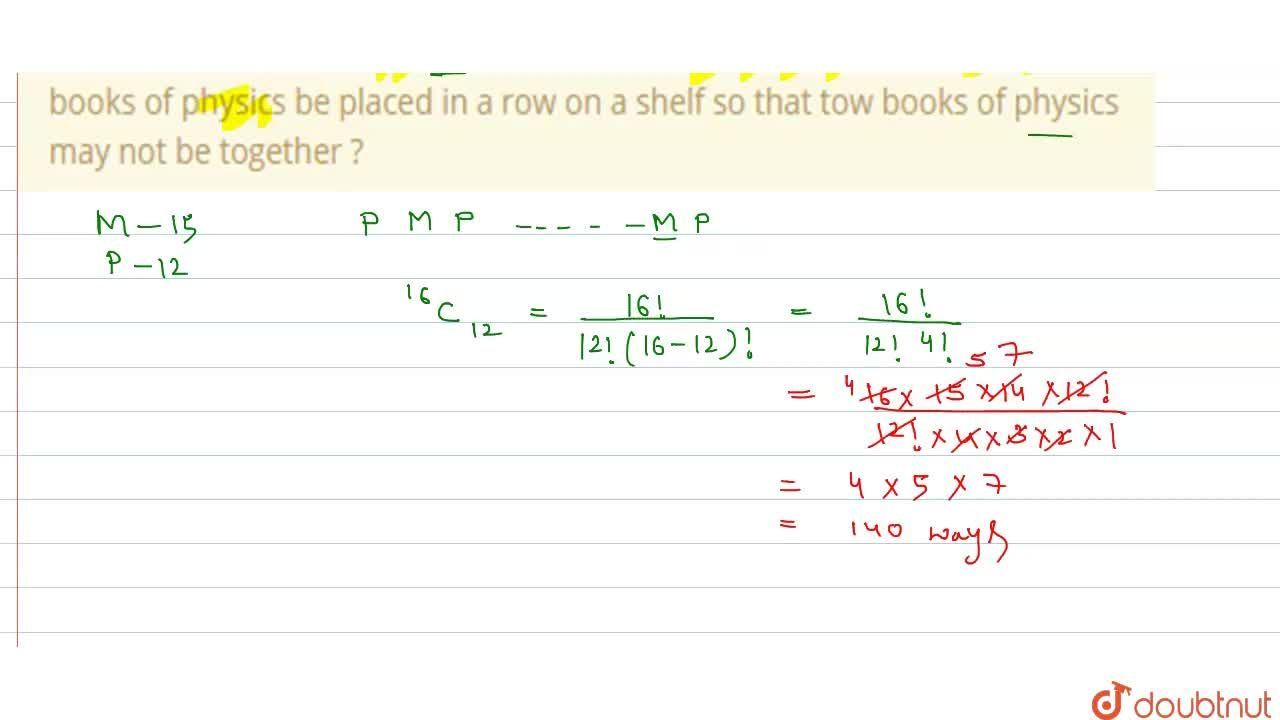 Solution for In how may ways can 15 identical books of mathemat