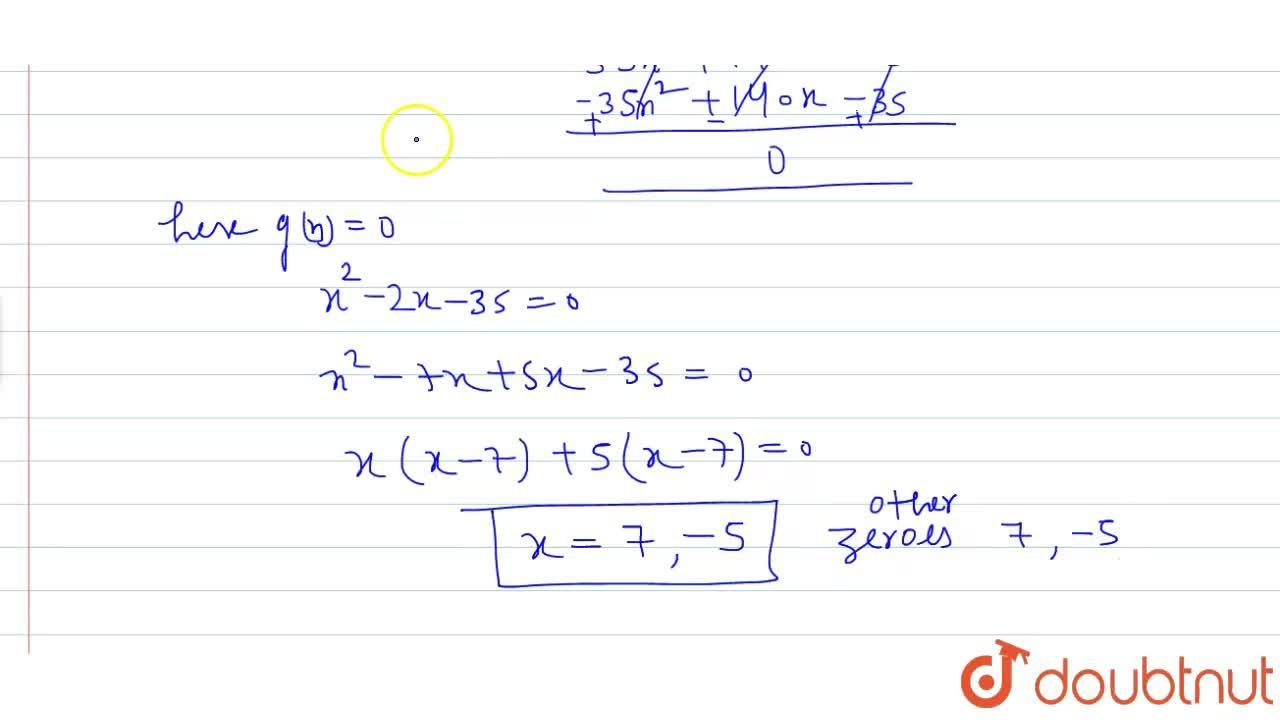 Solution for If two zeroes of the polynomial x^4-6x^3-26 x^2+1