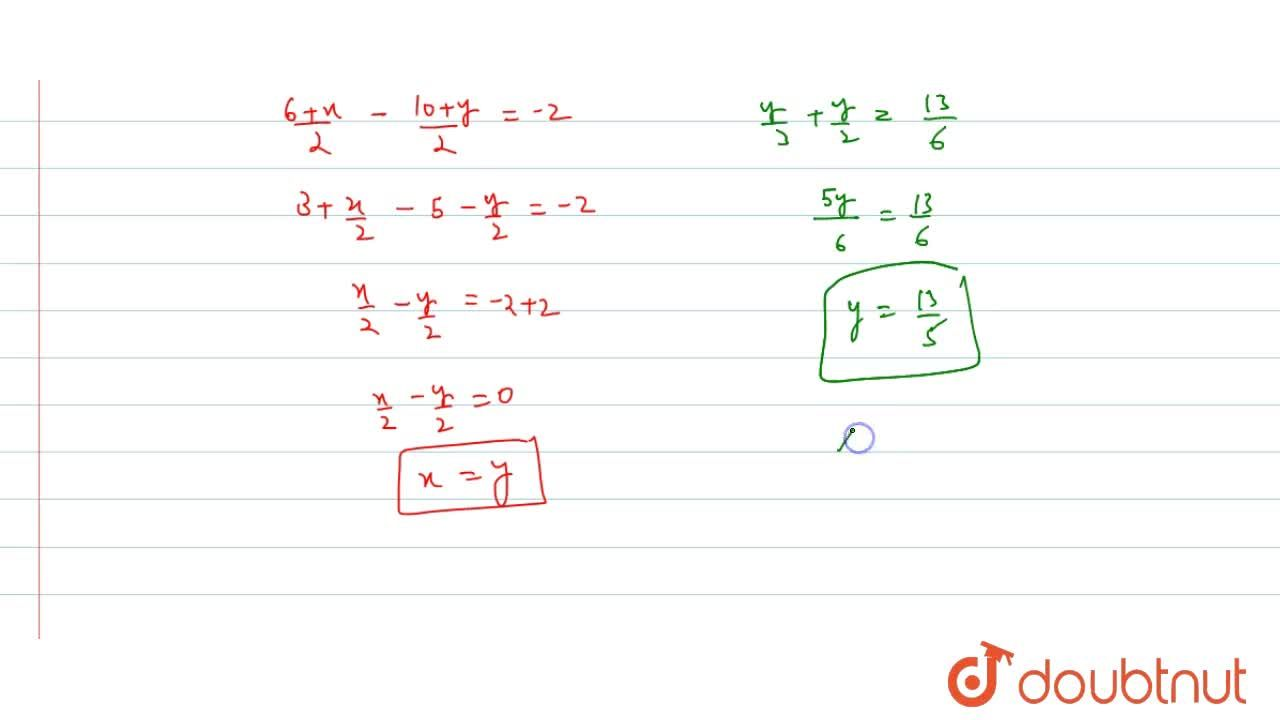 Solve the following pair of linear equations by the substitution  method. (i) x+y=14 ;x- y=4(ii) s-t=3; s,3+t,2=6(iii) 3x-y=3;9x-3y=9  (iv) 0. 2 x+0. 3 y=1. 3 ;0. 4 x+0. 5 y=2. 3(v) sqrt(2)x+sqrt(3)y=0;sqrt(3)x-sqrt(8)y=0(vi)3x,2-5y,2=-2;x,3+y,2=13,6