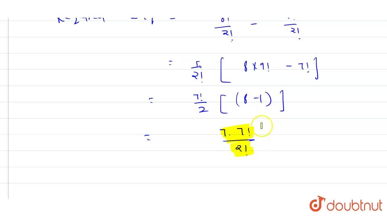 Solution for How many permutations of the letters of the word M