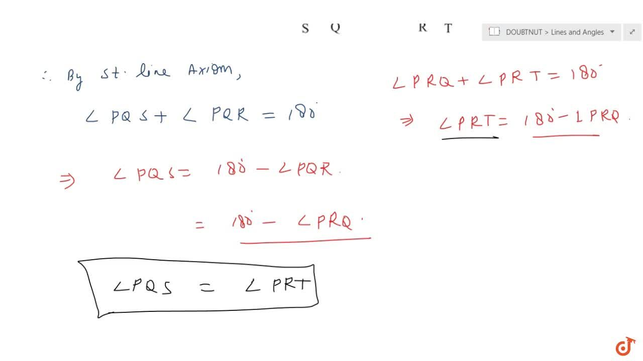 Solution for In Fig. 6.15, ,_P Q R=,_P R Q, then prove that