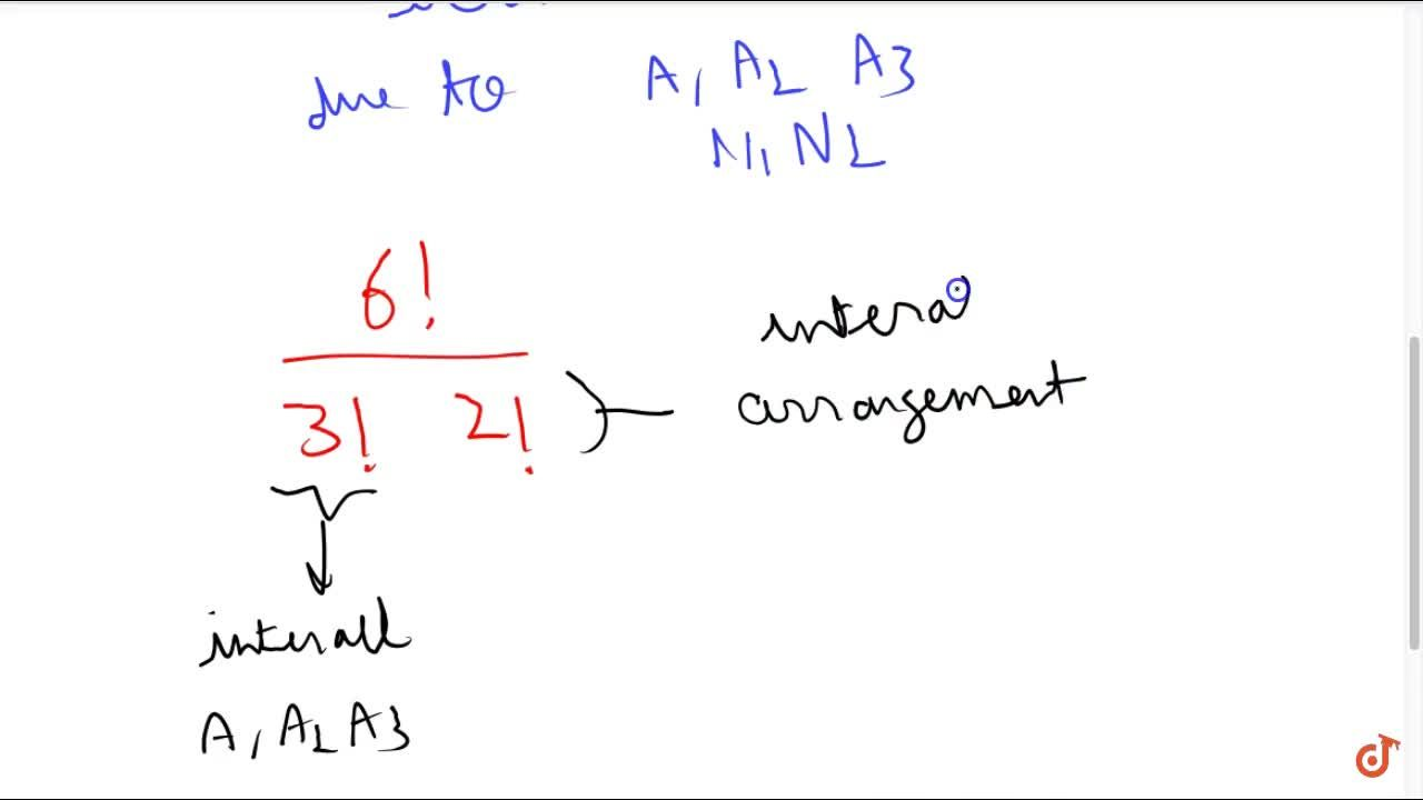 Solution for Find the number of different permutations of the l