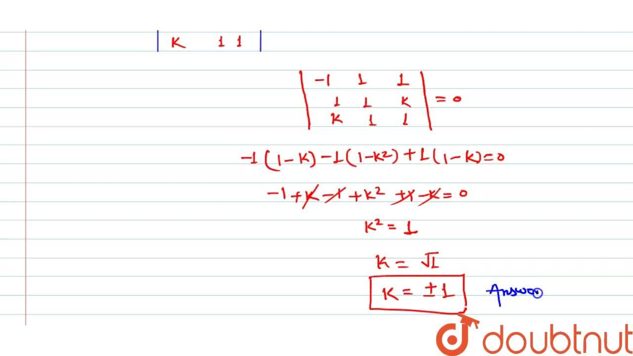 Solution for the lines (x-2),1 = (y-3),1 = (z-4),-k and