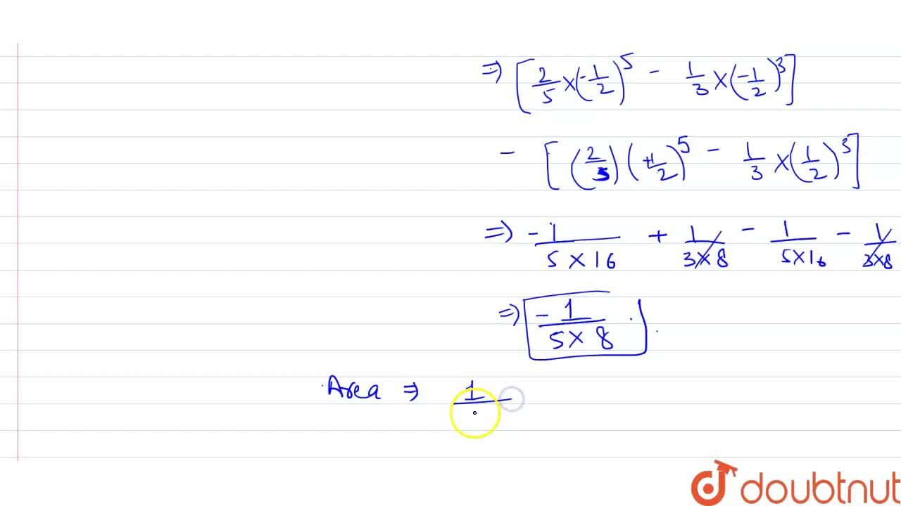 Solution for The area between the curve y=2x^4-x^2, the axis,