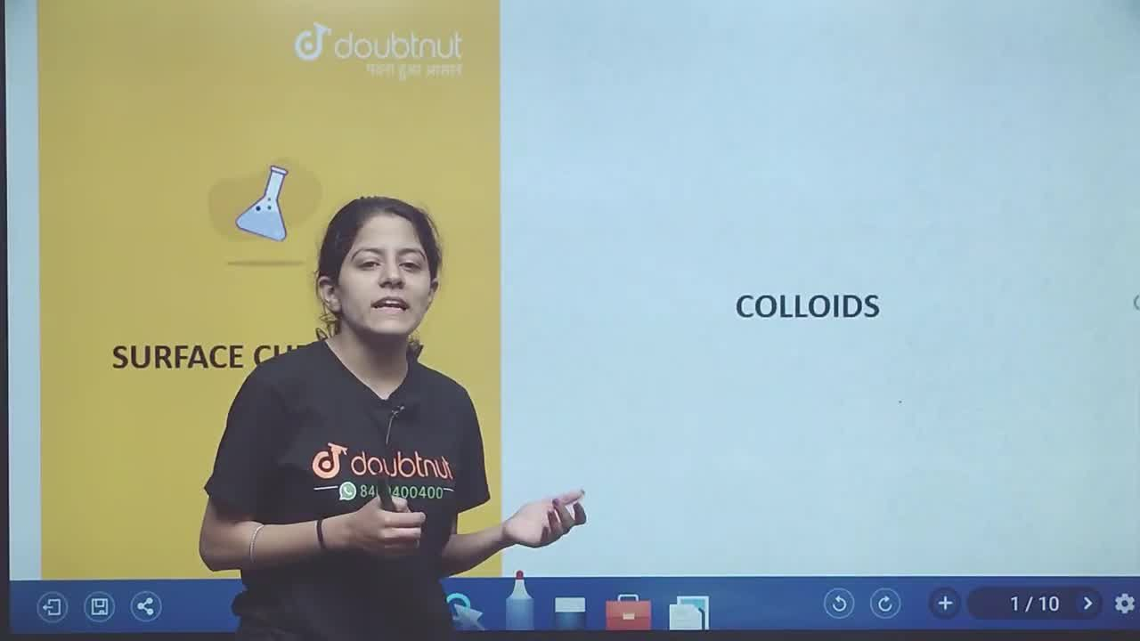 Solution for Colloids