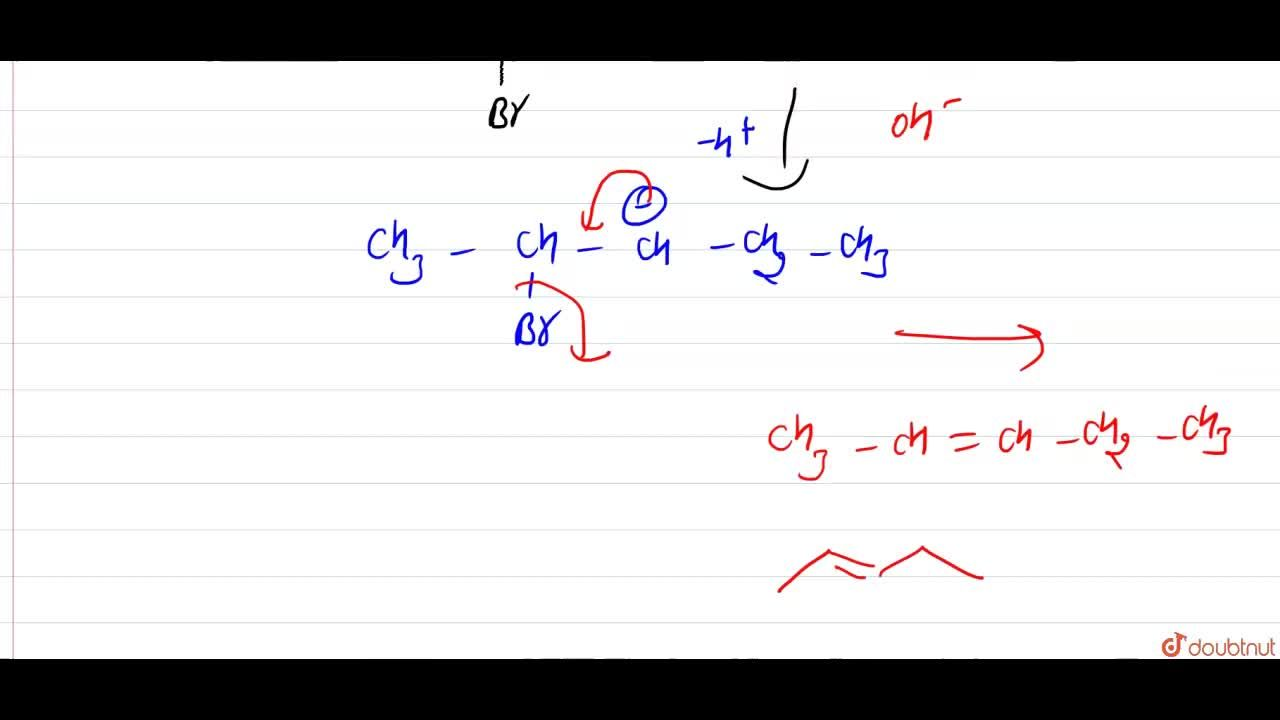 Solution for CH_(3)-underset(Br)underset( )CH-CH_(2)-overset(O