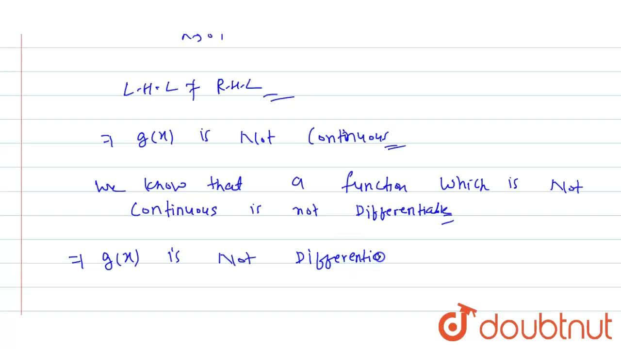 `F(x) =x^3-3x^2+6` and  `g(x)= max{F(t):x+1<=t<=x+2} -3<=x<0` and `1-x` for `x>=0` Find continuity and differentiability of g(x) for `x in [-3,1]`