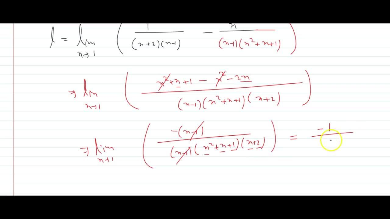 Solution for Evaluate the following limit: (lim)_(x->1)(1,(x^2