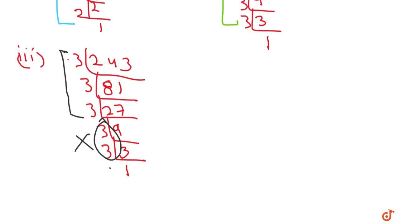 Solution for Which of the following are perfect cubes? (I)64