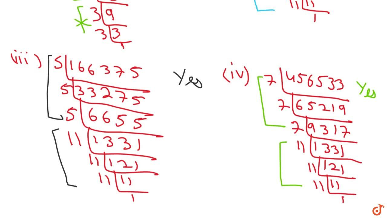 Solution for Which of the following are perfect cubes ? (I)4608
