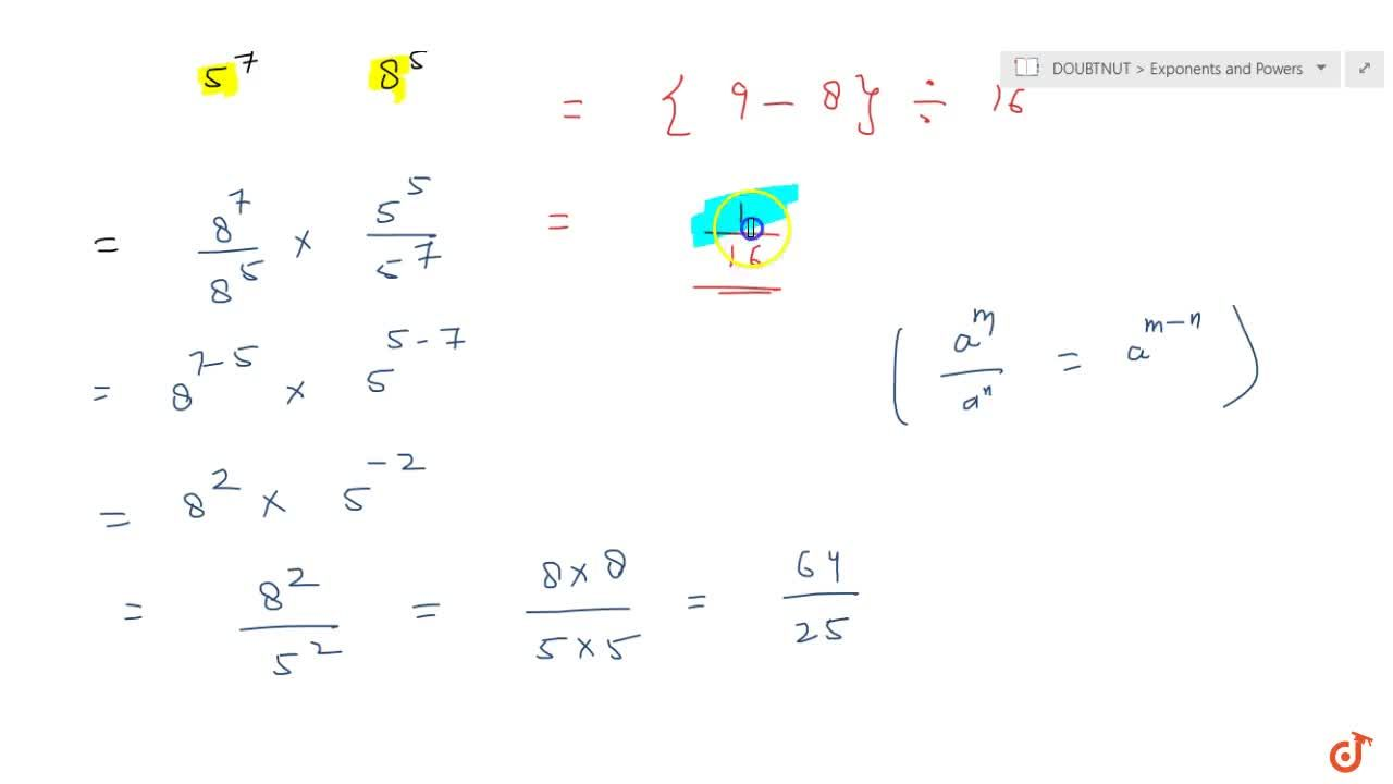 Solution for Simplify  (i) {(1,3)^(-2) - (1,2)^(-3)} -: (1,4)^