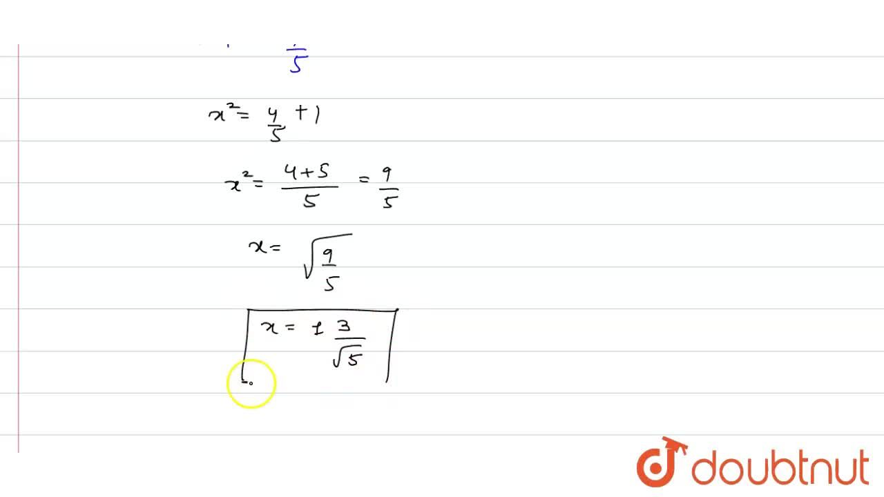 """Solution for  Solve the following equation for x :   """"cos"""""""